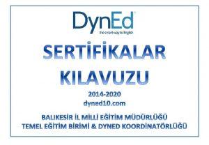 DYNED BAARI BELGELER SERTFKALAR CERTIFICATE OF ACHIEVEMENT CERTIFICATE