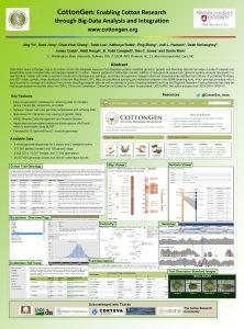 Cotton Gen Enabling Cotton Research through BigData Analysis