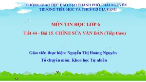 PHNG GIO DC O TO THNH PH THI