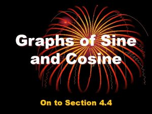 Graphs of Sine and Cosine On to Section