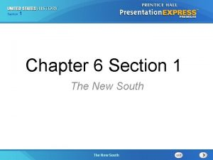 Chapter Section 1 25 Section 1 Chapter 6
