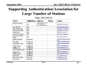 September 2012 doc IEEE 802 11 120112 r