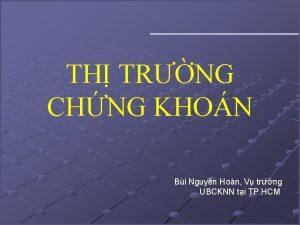 TH TRNG CHNG KHON Bi Nguyn Hon V