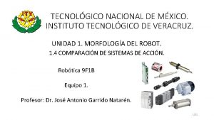 TECNOLGICO NACIONAL DE MXICO INSTITUTO TECNOLGICO DE VERACRUZ