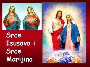 Srce Isusovo i Srce Marijino Biblijski je jezik