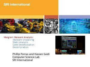 Malgram Malware Analysis Malware Unpacking Static Analysis Code