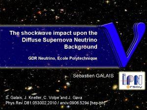 The shockwave impact upon the Diffuse Supernova Neutrino