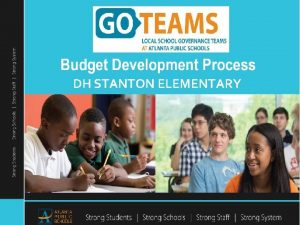 DH STANTON ELEMENTARY DH Stanton Elementary School FY