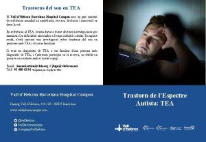 Trastorns del son en TEA El Vall dHebron
