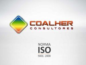 NORMA ISO 9001 2008 QUINES SOMOS Somos profesionales
