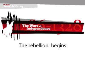 The rebellion begins 221018 The rebellion begins AIM