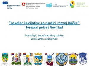 Lokalne inicijative za ruralni razvoj Bake Evropski pokret