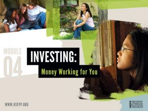 Investing Strategy SET GOALS FOR SAVING AND INVESTING