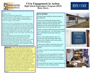 Civic Engagement in Action High School Equivalency Program