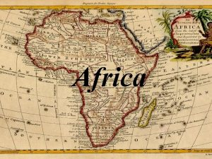 Africa AFRICA v During the Middle Age Africa