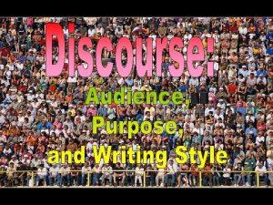 Determining Purpose Determining Purpose Purpose 1 Do you