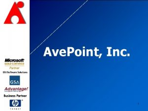 Ave Point Inc 1 Share Point Default Backup