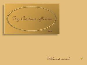 Day Crations rflexives 2013 Dfilement manuel Il tait