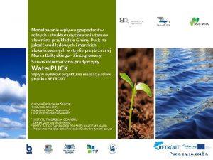 Modelowanie wpywu gospodarstw rolnych i struktur uytkowania terenu